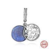 China Silver Star Sky Charms on sale