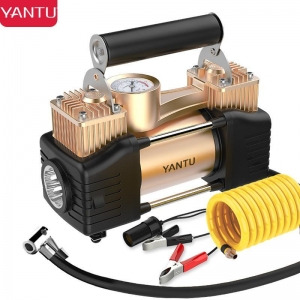 China YANTU E21 tyre inflator 220v car portable mini compressor air pump on sale