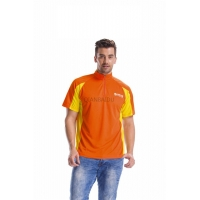 P-001/160g 100% polyester quick dry polo shirt