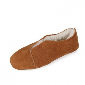 China Furry soft sole wool lined warm bedroom slipper indoor moccasin shoes on sale