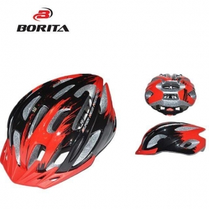 China In-mould 18vents Light Up Led Bike Helmet MTB for Male on sale