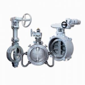 China high Performance Butterfly Valves Triple Offset Metal-Seated Butterfly Valve on sale
