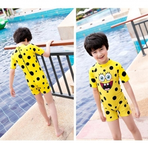 China 16.Children's multi-body short-sleeved bathing suit UV proof swimsuit for boys and girls on sale