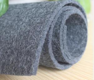 China Eco-friendly grey wool felt on sale