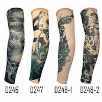 China KaPin fashion men women arm cover custom tattoo printed arm sleeves for cycling sports on sale