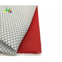 100% polyester eyelet fabric textile importers in the USA