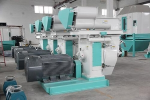 China factory price U-FIRST chicken feed pellet machine on sale