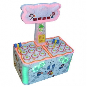 China Kids Game Machine Luxury Frog Jumps 2players on sale