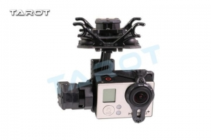 China Related gimbal Tarot GOPRO T4-3D Dual suspension 3 axis Gimbal TL3D02 on sale
