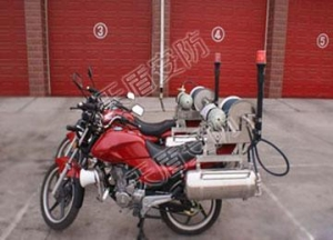 China Rescue Equipment Fire Fighting Motorcycle on sale