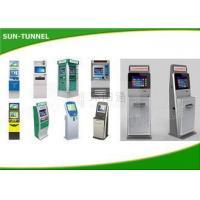 Exchange Currency Self Service Card Dispenser Kiosk Vending Machine USB / HDMI Interface