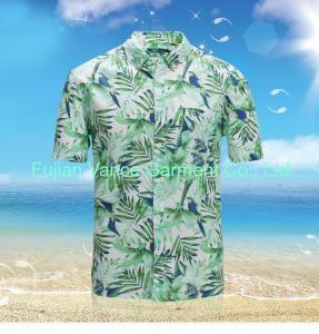 China Summer men aloha hawaiian shirts on sale