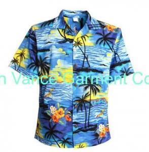 China Lady hawaiian shirts beach wear shirts on sale