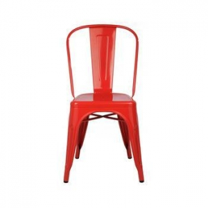 China Metal vintage industrial dining Chairs /dining Chair Metal on sale