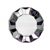 China Round Silver Three Dimensional Wall Mirror for sale