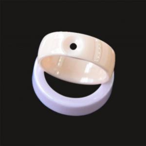 China Polished Jewelry Ceramic Ring on sale