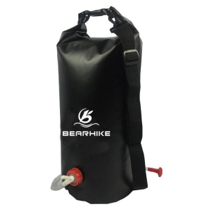 China Pvc Tarpaulin Camping Solar Shower Bag on sale