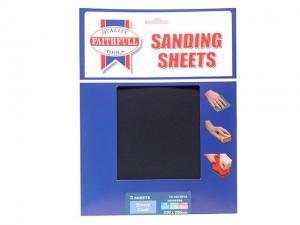 China Abrasives Faithfull Alox Cloth Sheets 280 x 230mm Assorted Fine, Medium & Coarse (3)  FAIAECSP3A on sale