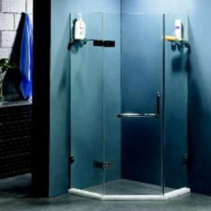 China Tempered Glass Screen Shower Room Tempered Glass Screen Shower Door on sale