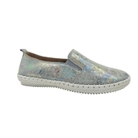 New collection slip-on leather shoes flat leather shoes for women