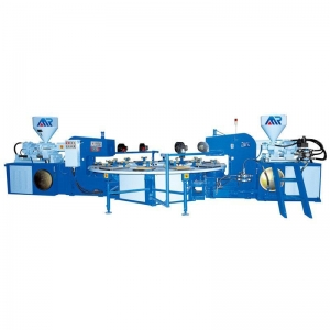 China Two Color TPR Sole Injection Machine on sale