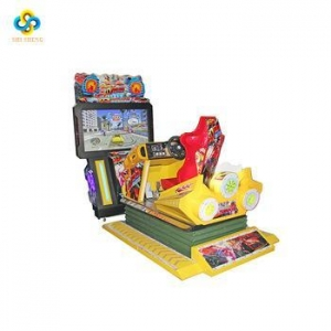 China low price india coin operated 3D simulator arcade car racing game machine manufacturer on sale