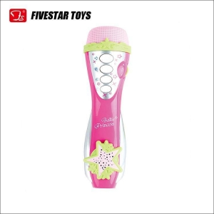 China Baby Game Toys Plastic Handheld Microphone Kids Learning Toys With Music on sale