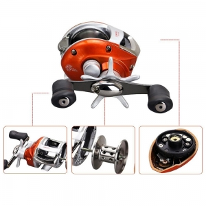 China Peche Stainless Steel Fishing Line Bait Casting Fishing Reel on sale