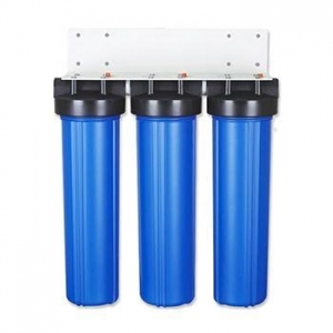 China 20 inch big blue whloe house water filter housing on sale