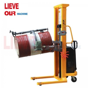 China 520KG Scale-Equipped Electric Vertical-Lift Drum Pourers with Battery Power Drum Lift YL520-1 on sale