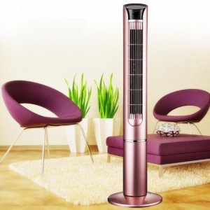 China RideWind bladeless fan tower fan with remote control 80mm on sale