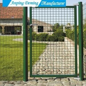 China Hot Sales Welded Iron Gate Design for House on sale