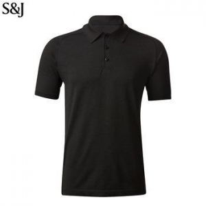 China Custom Branded T Shirts Polo Shirt For Men Polo Shirt Import Fabric on sale