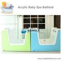 China 1.28m Echelon Baby Spa Whirlpool,Bathtub for kids,Child Bath Tub,Bubble,Led Light,Ozone on sale