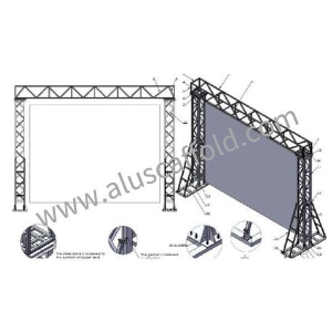 China Lighting Aluminium Truss on sale
