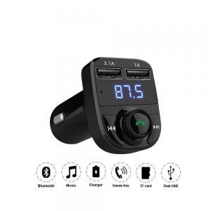 China EP-CA004 LED Display Voltmeter Car Bluetooth FM Transmitter on sale