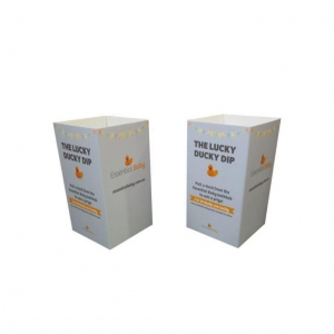 China square Cardboard Dump Bins Display Printing on sale