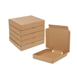 China Brown Corrugated Cardboard Mailer Boxes Outside Tuck on sale