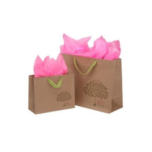 China Personalized Kraft Paper Shopping Bag on sale