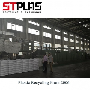 China PET Bottle Recycling Polyester Staple Fiber Production Line on sale