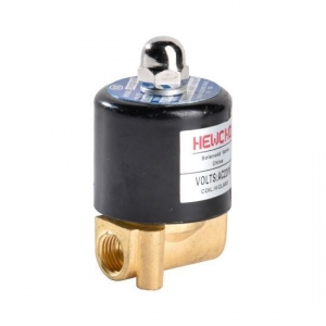 China Miniature Solenoid Valve Water Brass Electric Valve 1/4 inch on sale