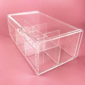 China Acrylic Box Exquisite acrylic gift box for tea bag on sale