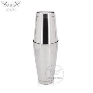 China 550mm +750ml Stainless Steel Boston Cocktail Shaker Set on sale