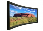 XYSCREEN Products Curved frame projector screen CHK-80C series