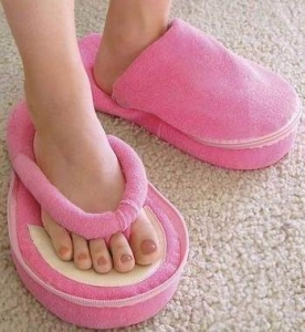 China Memory Foam Pedicure Slippers on sale