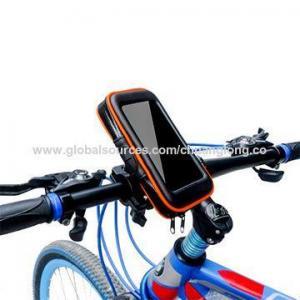 China Universal 360 rotating handle bar waterproof bike phone mount for iPhone 6s, Samsung S3/S4/iPhone 6 on sale