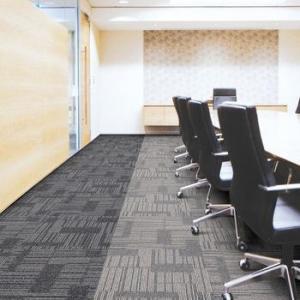 China High Design 100% Solution Dyed Nylon Commercial Flocked Carpet Tiles on sale