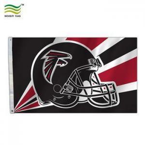 China Sport Helmet Banner Atlanta Falcons NFL Flag on sale