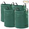 China Ohuhu Garden Waste Bags 72 Gallons Reusable Yard Leaf Bag for sale