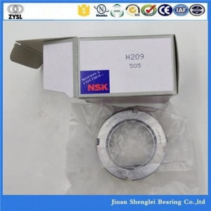 China NSK H209 bearing adapter sleeve on sale